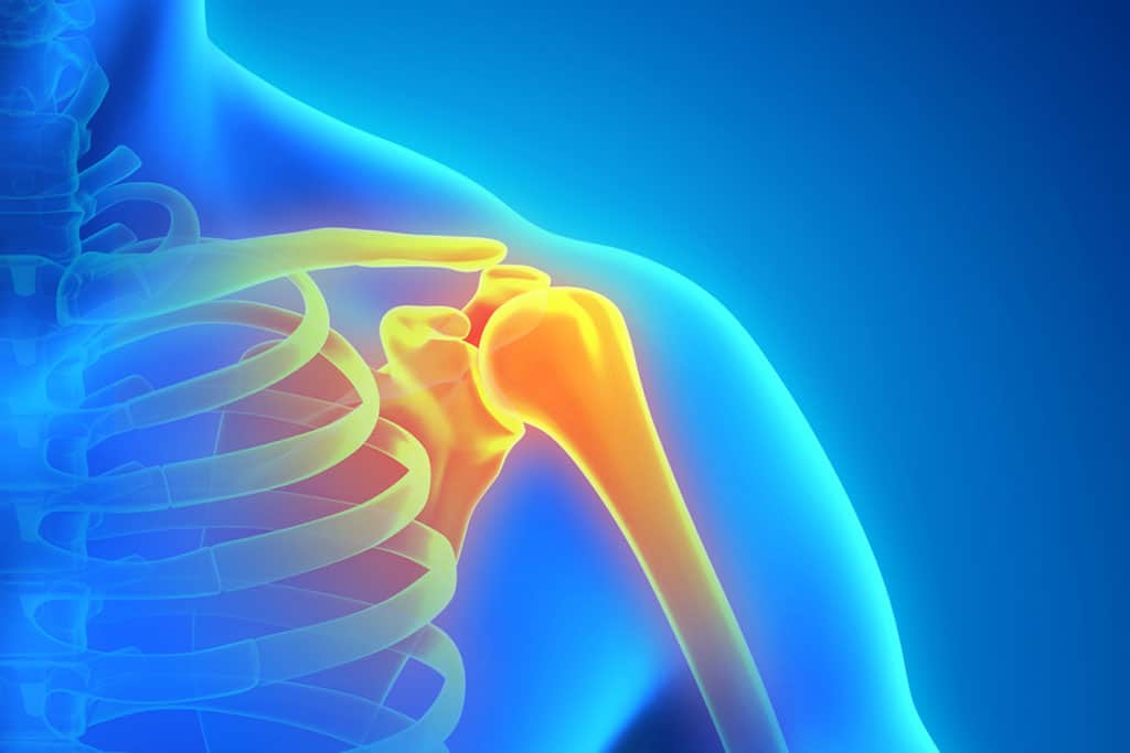 We can treat shoulder pain